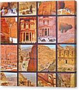 Petra Alive In Petra Jordan Canvas Print