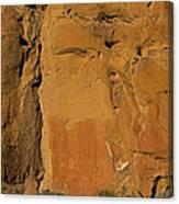 Petroglyphs   #1054 Canvas Print