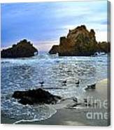 Pfeiffer Beach Big Sur Twilight Canvas Print