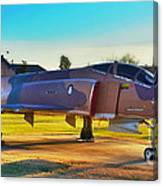 Phantom 4 Jet Vietnam Era Canvas Print