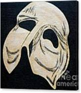 Phantom Mask Canvas Print