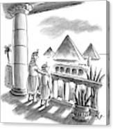 Pharaoh To Son Canvas Print
