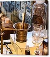 Pharmacist - Brass Mortar And Pestle Canvas Print