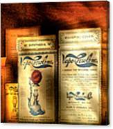 Pharmacist - Medical Cures Canvas Print