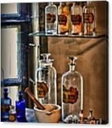 Pharmacist - Medicine Bottles Canvas Print