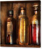 Pharmacist - Various Elixirs  Canvas Print