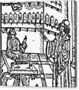 Pharmacy, 1500 Canvas Print