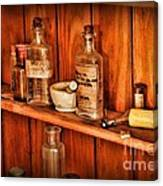 Pharmacy - A Bottle Of Poison Canvas Print