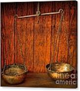 Pharmacy -apothecary Scale Canvas Print