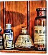 Pharmacy - Cocaine In A Bottle Canvas Print