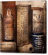 Pharmacy - Cures For The Bowels Canvas Print