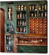 Pharmacy - Medicine - Pharmaceutical Remedies  Canvas Print