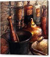 Pharmacy - Pestle - Pharmacology Canvas Print