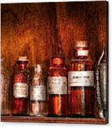 Pharmacy - Pharmacist's Fancy Fluids Canvas Print