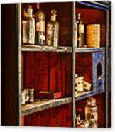 Pharmacy - The Back Room Canvas Print