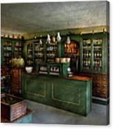 Pharmacy - The Chemist Shop  Canvas Print