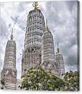 Phetchaburi Temple 17 Canvas Print
