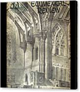 Phil Ecumenical Review 1965 Canvas Print