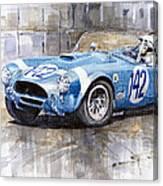 Phil Hill Ac Cobra-ford Targa Florio 1964 Canvas Print