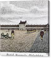 Philadelphia: Barracks Canvas Print