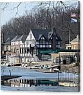 Philadelphia - Boat House Row Canvas Print