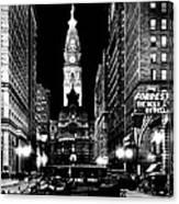 Philadelphia City Hall 1916 Canvas Print