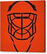 Philadelphia Flyers Goalie Mask Canvas Print