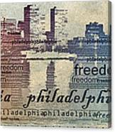 Philadelphia Freedom Canvas Print