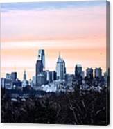Philadelphia From Belmont Plateau Canvas Print