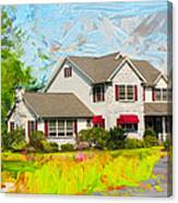 Philadelphia House Canvas Print