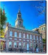 Philadelphia Independence Hall 9 Canvas Print