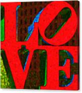 Philadelphia Love - Painterly V1 Canvas Print