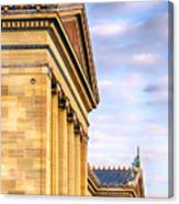 Philadelphia Museum Of Art Facade Canvas Print