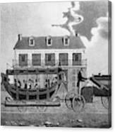 Philadelphia Railroad Canvas Print