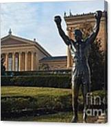 Philadelphia - Rocky  Canvas Print