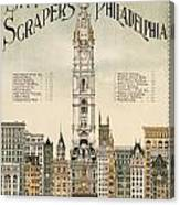 Philadelphia Skyscrapers Canvas Print