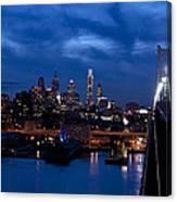 Philadelphia Twilight Canvas Print