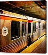 Philadelphia - Waiting Train Canvas Print