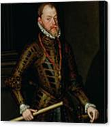 Philip II Of Spain C.1570 Canvas Print