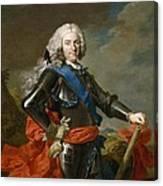 Philip V Of Spain Canvas Print