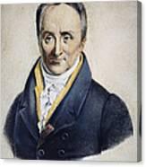 Philippe Pinel (1745-1826) Canvas Print