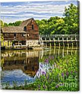 Philipsburg Mill Canvas Print