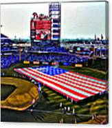 Phillies American Canvas Print