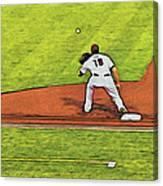 Phillies First Baseman Canvas Print