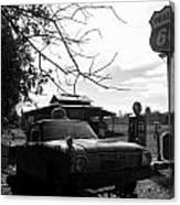 Phillips 66 Ranchero And Pumps Canvas Print