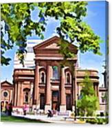 Philly Church View Canvas Print