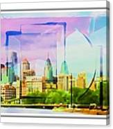 Philly Colours Canvas Print