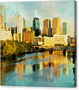 Philly Gleamin Canvas Print
