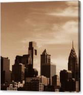 Philly Skyline 2013 Canvas Print