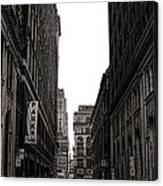 Philly Street Canvas Print